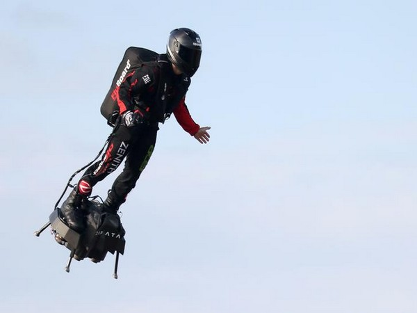 Frenchman successfully flies across English Channel on hoverboard