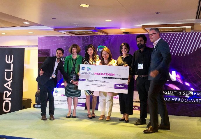 ADB to partner with winning teams from hackathon hosted by ADB-AIM