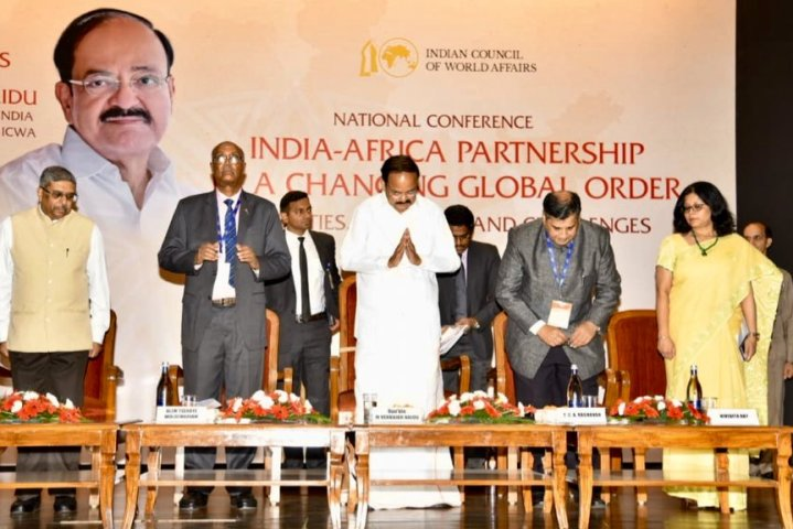 India would stand with Africa for democratic global order, VP Naidu says