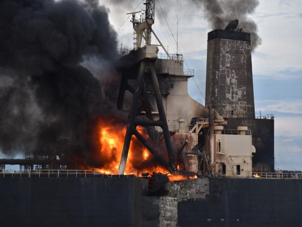 Sri Lanka seeks at least $1.9 mln damage from owner of fire-hit tanker
