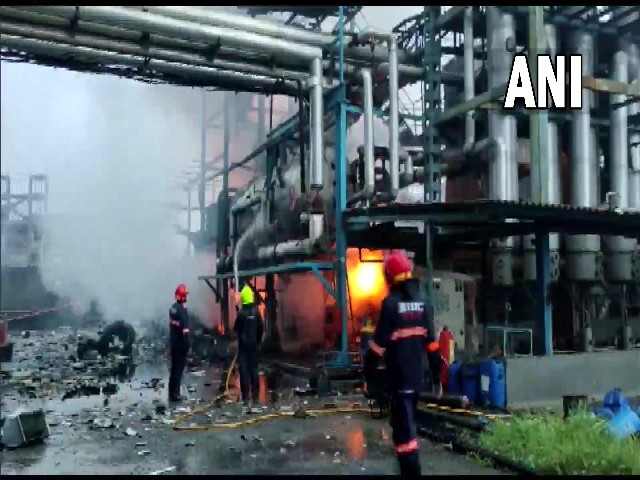 One died, 4 injured in fire after explosion at factory in Maharashtra's Boisar