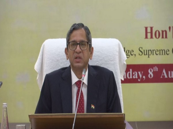 Justice Ramana is like Sachin Tendulkar, breaking records one after another, says Justice B R Gavai