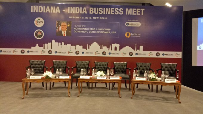 FICCI organizes Indiana-India Business Meet to further strengthen trade relations