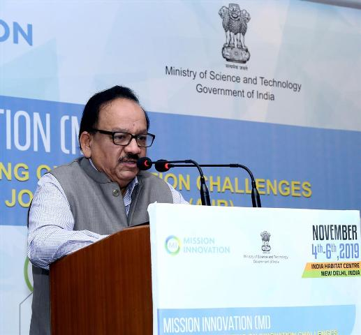 Mission Innovation comprises of 24 countries and EU Commission: Dr. Vardhan