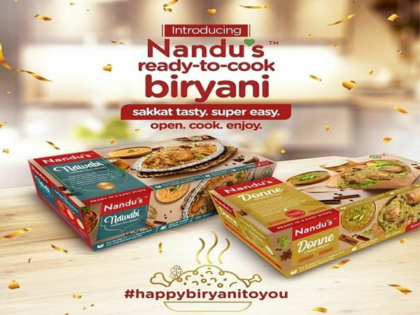 India's largest omni-channel meat brand, Nandu's launches ready-to-cook biryanis