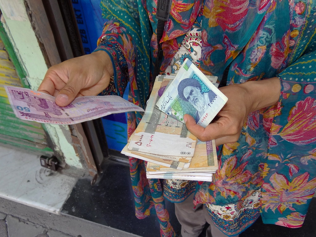 Iran's currency hits lowest value ever against the dollar