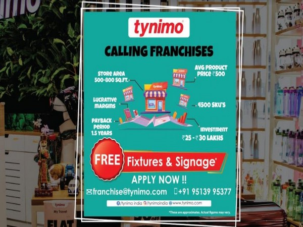 Tynimo calls for franchises from across India