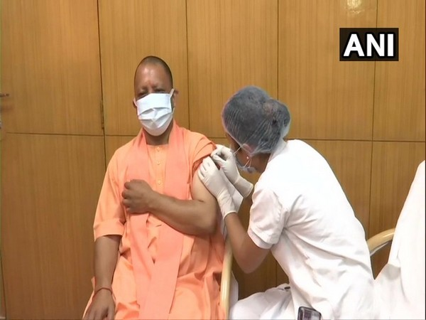 Adityanath receives first shot of COVID-19 vaccine, urges people to follow health norms