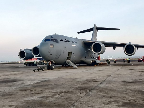 COVID-19 crisis: Over 180 cryogenic oxygen containers transported by Indian Air Force