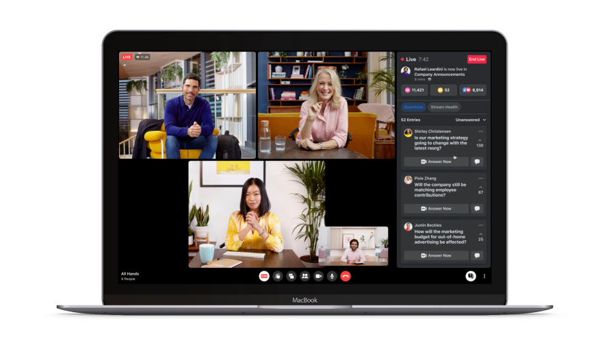 Facebook Workplace now has more than 7 million paid subscribers