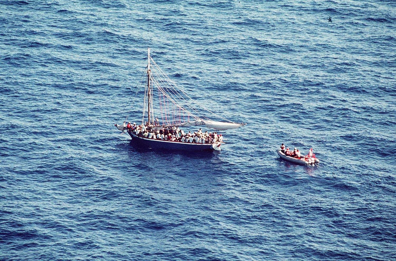 UN: Migrant boat capsizes off Libya, 57 thought dead