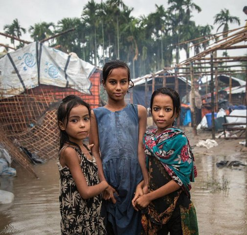 UN food agency launches emergency response for Monsoon-hit Rohingya refugee