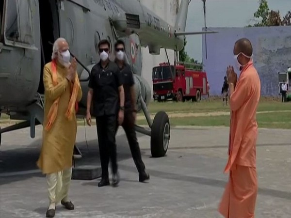 PM arrives in Ayodhya to lay foundation stone of Ram temple