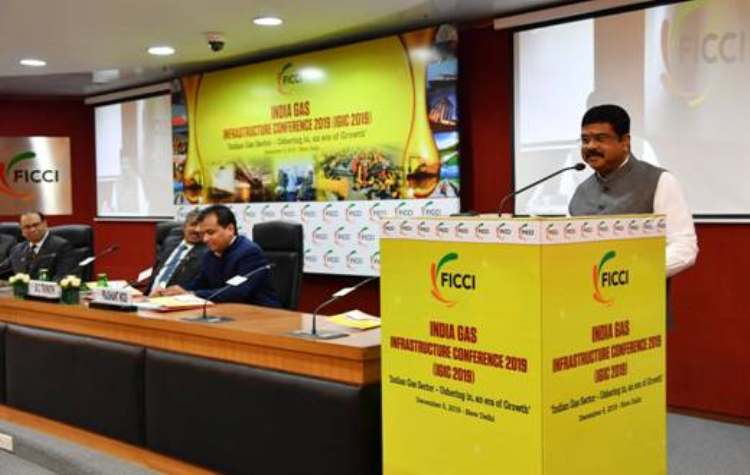 Dharmendra Pradhan addresses India Gas Infrastructure Conference 2019