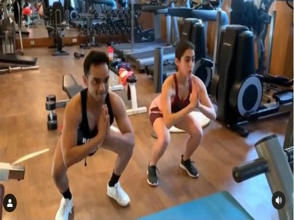 'When in doubt, you must workout', Sara Ali Khan motivates fans