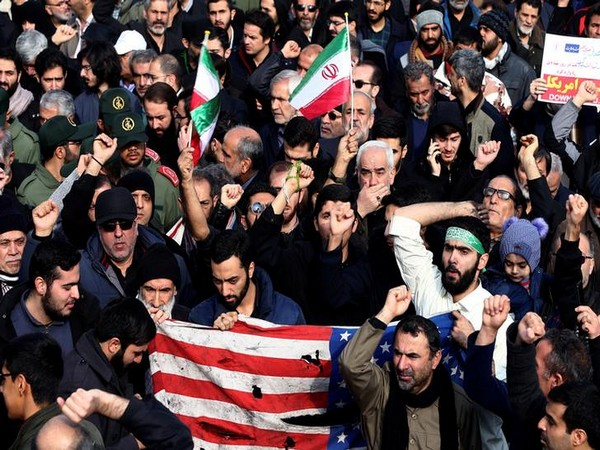 WRAPUP 12-'Our enemy is here': Iran protesters demand that leaders quit after plane downed