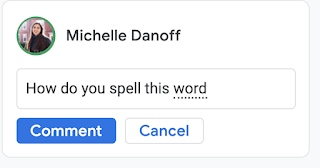 Autocorrect, smart compose now available on Google Docs comments