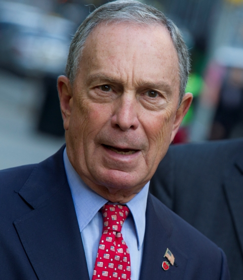 In Virginia, Bloomberg blasts Trump for Navy leader's ouster