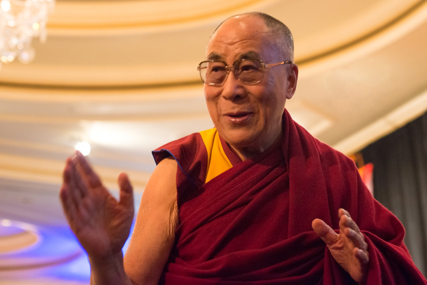 Dalai Lama in stable condition after being hospitalized due to chest infection