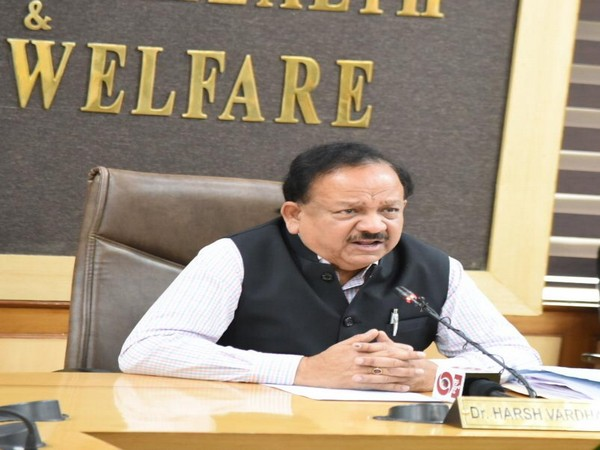 Union Health Minister holds review meeting with states on coronavirus