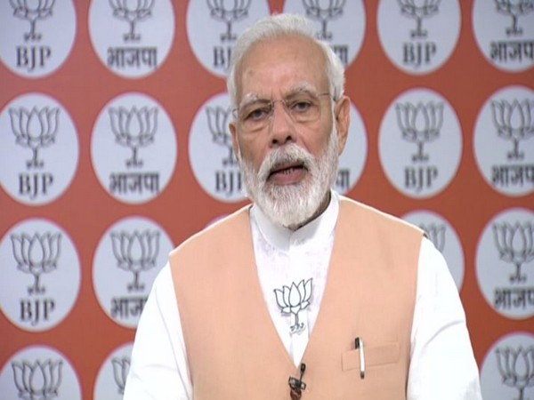 Combating COVID-19 : PM Modi makes 5 appeals to BJP workers on party's 40th foundation day