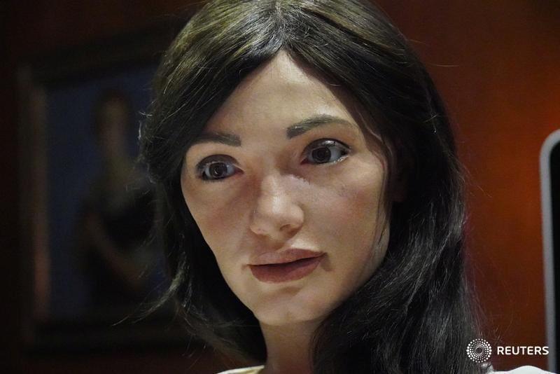 Ai Da, an AI robot with unmatched sense of artistry