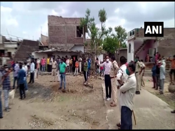 Locals demolish house of rape accused in MP's Dhar
