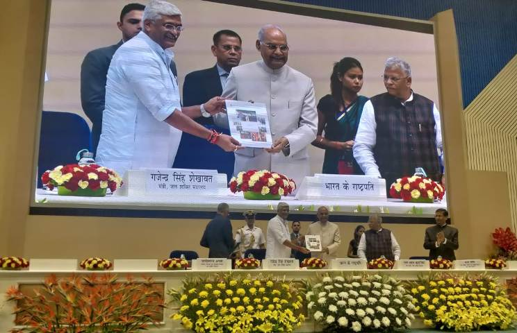 President Kovind presents Swachh Bharat Awards in various categories