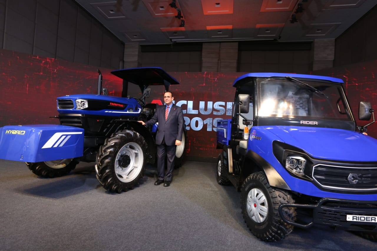 Escorts Showcases India's first Hybrid Concept Tractor at Exclusive 2019