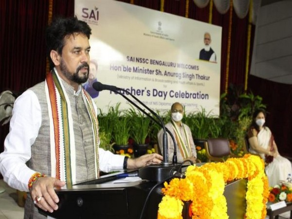 Future of Indian sports is in hands of coaches: Anurag Thakur
