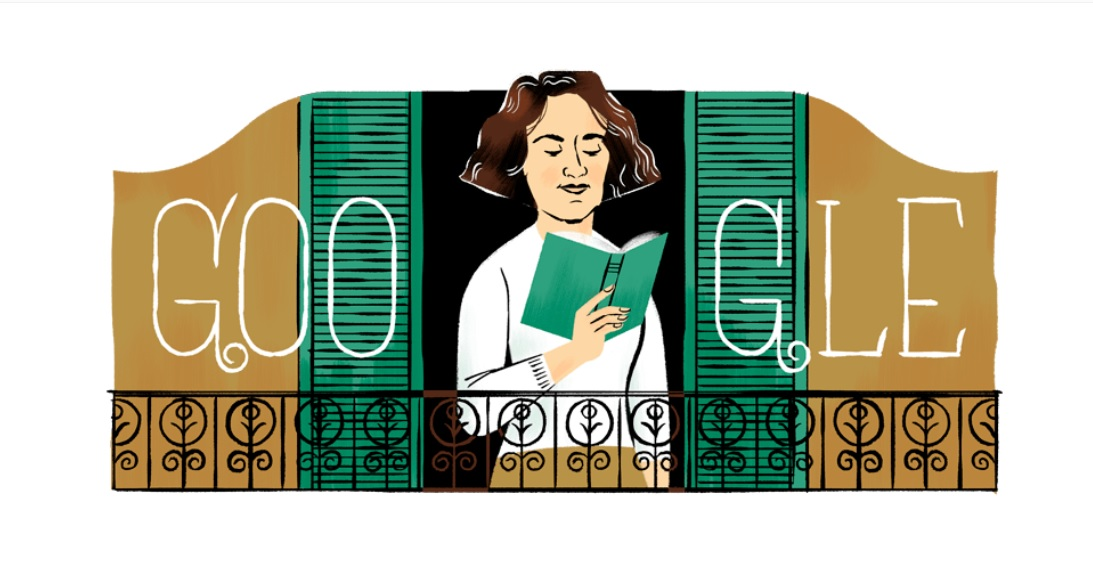 Carmen Laforet: Google Doodle to honor Spanish author on her 100th Birthday