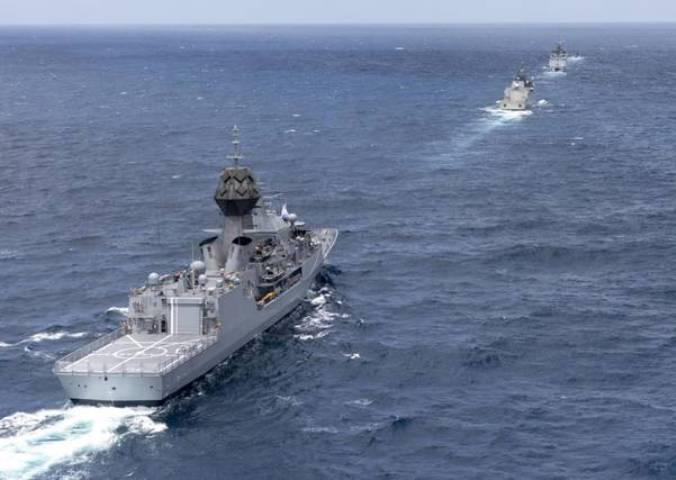 Indian Navy participates in 4th AUSINDEX with Royal Australian Navy