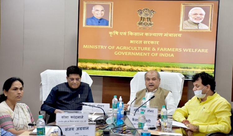 Centre and State must work together for agriculture to boost economy: NS Tomar