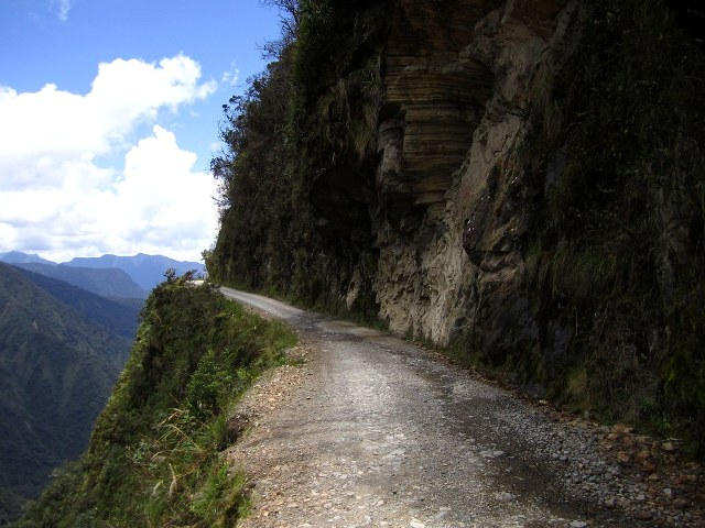 A 70-year old biking grandmother conquers Bolivia's 'Death Road'