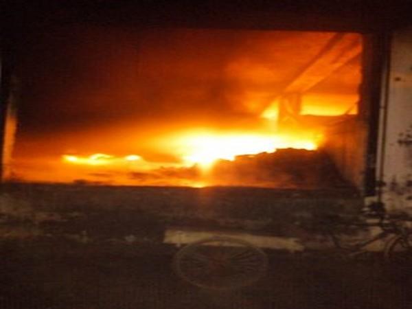 Fire at warehouse in Delhi's Bijwasan area
