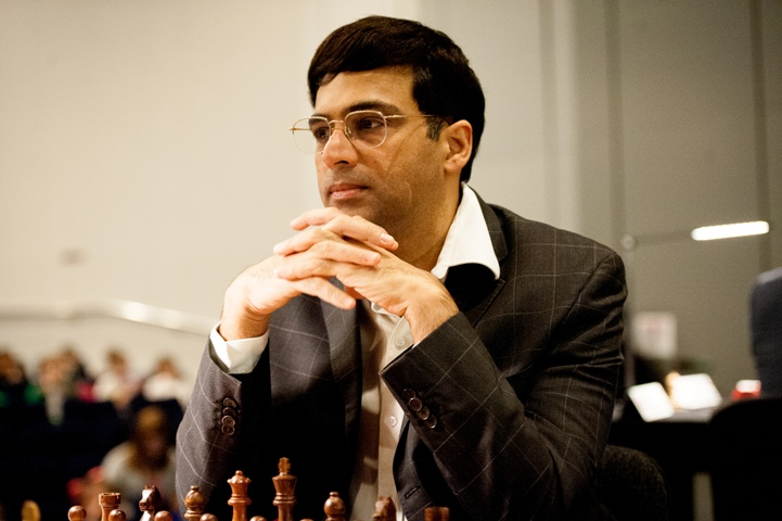 Anand to lead strong Indian team for Grand Swiss Tournament