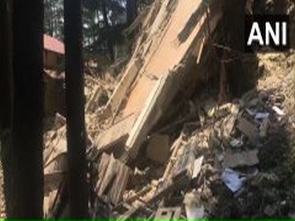 Five storey building collapsed in HP's Shimala