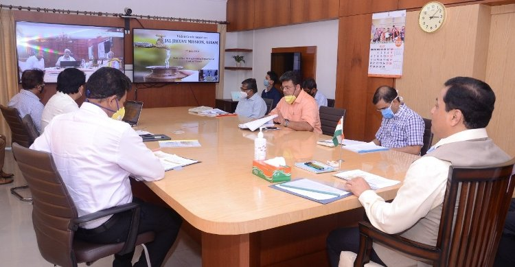 Jal Shakti Minister holds discussion with Assam CM to implement Jal Jeevan Mission