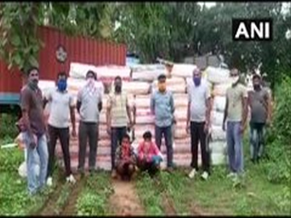1200 kg cannabis seized in Visakhapatnam, 2 held