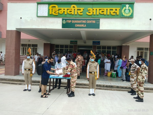 Delhi: 78 people evacuated from Afghanistan complete 14-day quarantine at ITBP camp