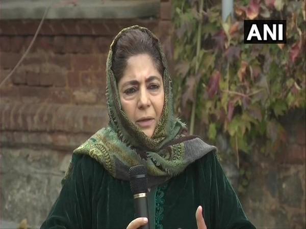 BJP uses Taliban, Afghanistan, Pakistan to garner votes: Mehbooba
