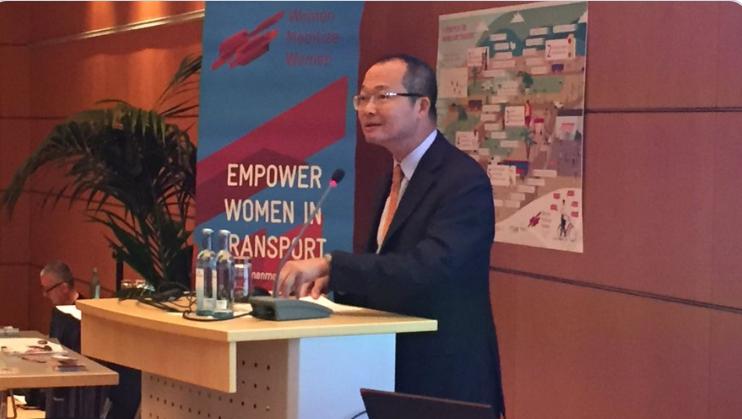 In future, focus on closing Gender Gap in transport: Guangzhe Chen in 26th WRC