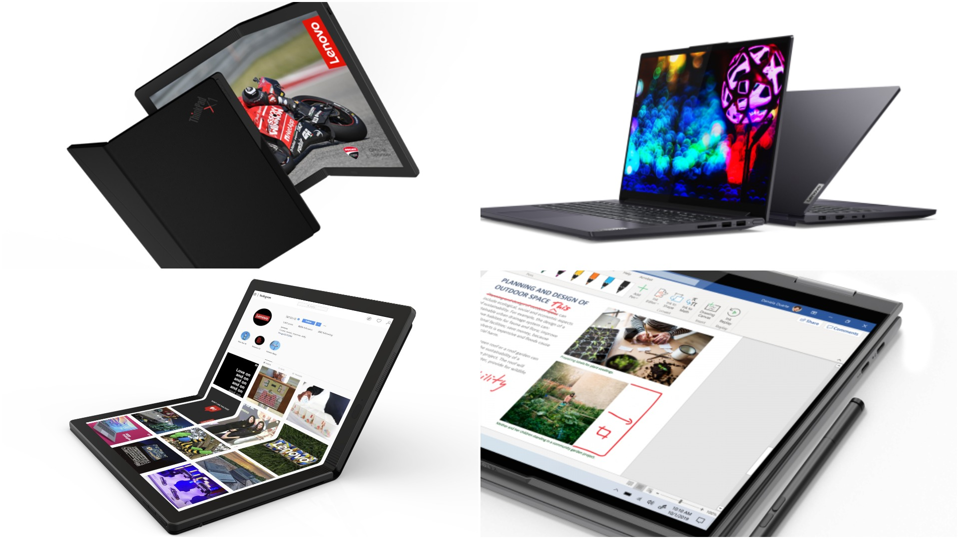 Lenovo at CES 2020: World's first 5G PC; foldable PC; Chromebooks and more