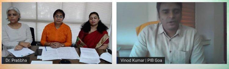 PIB Goaholds webinar to celebrate Nari Shakti on International Women's Day