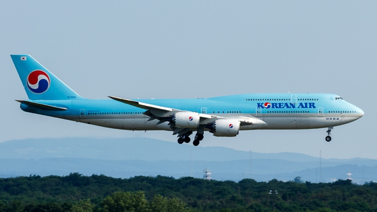 UPDATE 1-Korean Air crewmember who tested positive to coronavirus was on LA flights-reports