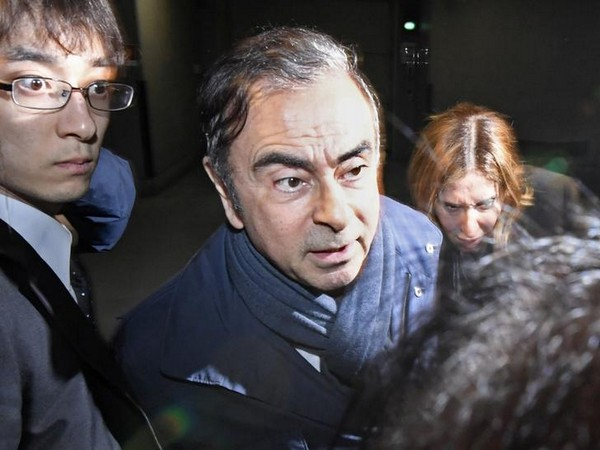 Carlos Ghosn's wife questioned by authorities after allegedly 'fleeing' Japan