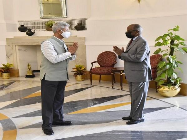S Jaishankar discusses regional situation, international issues with Eritrea EAM in New Delhi