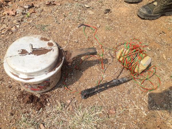 ITBP unearths pressure cooker bomb in Chhattisgarh