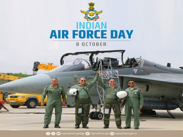 Blue skies, happy landings always: Rajnath, Shah extend greetings to IAF personnel on 88th Air Force Day