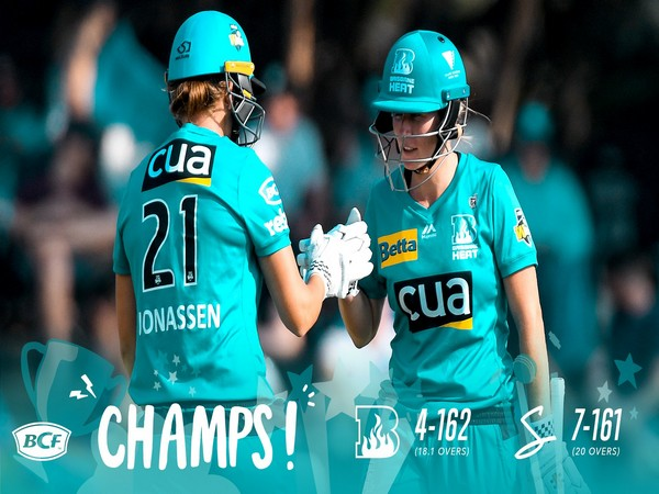 Brisbane Heat defeat Adelaide Strikers to clinch WBBL title